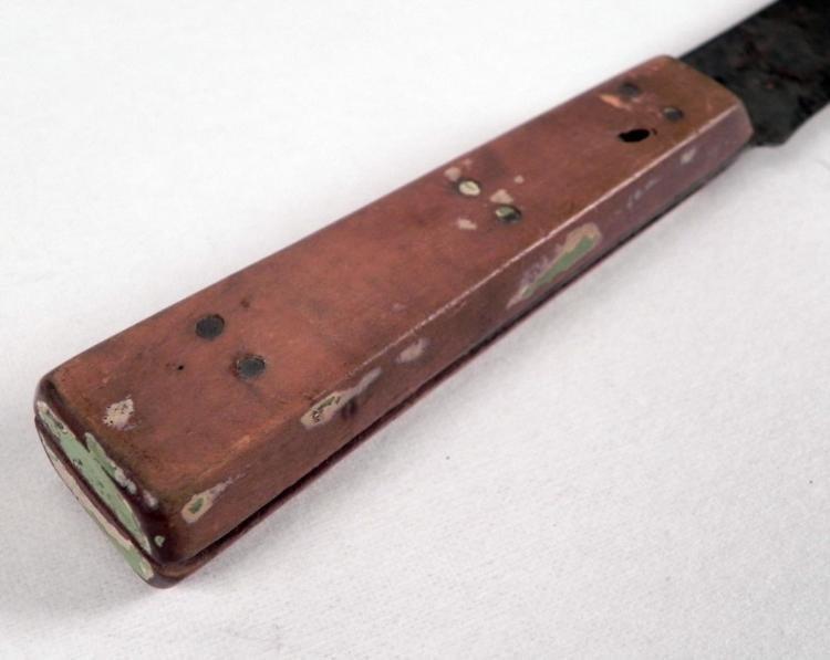 "WWI BRITISH MILITARY KNIFE-MARKED ""AAA1-A.J. JORDAN - 4"