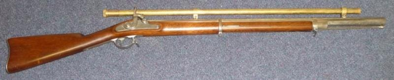 A US Springfield 1864 Percussion Cap Target Rifle
