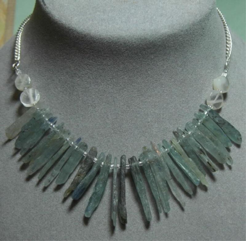 Artisan Kyanite & Moonstone Necklace