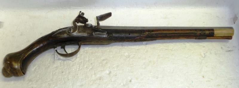 Late 18th/Early 19th C Spanish Flintlock Pistol