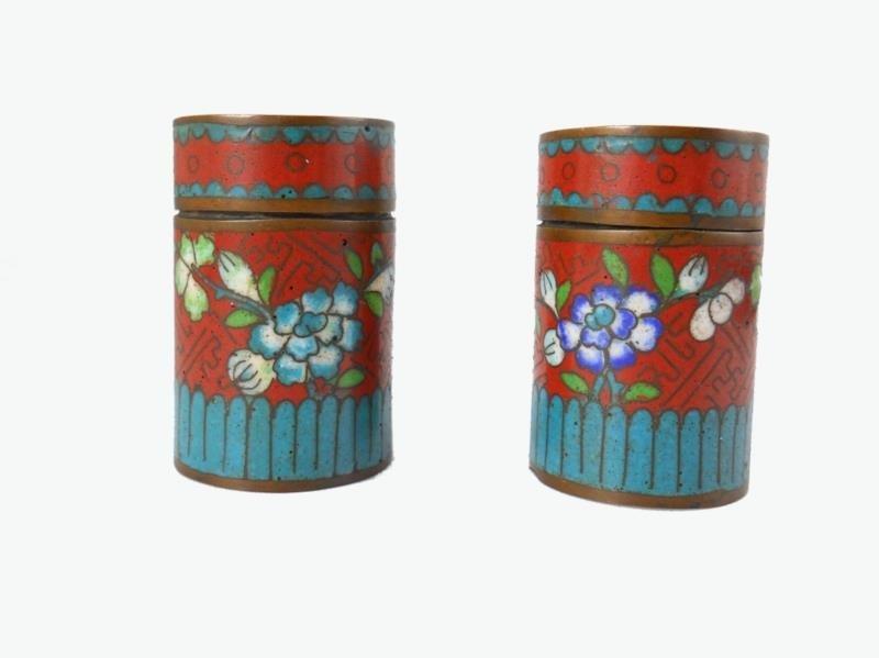 Asian Cloisonne Pieces