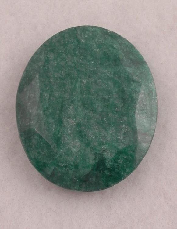 INCREDIBLE CERTIFIED 688 CT RARE MUSEUM SIZE EMERALD