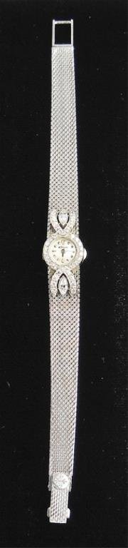 Patek Philippe Ladies Platinum and Diamond Watch