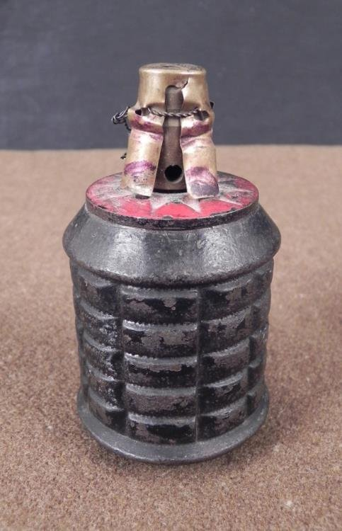 Japanese WWII Original 50mm Mortar Round Model 89 -1929