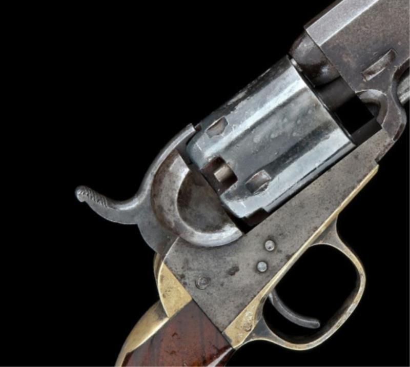 A .31 percussion single shot service pistol.