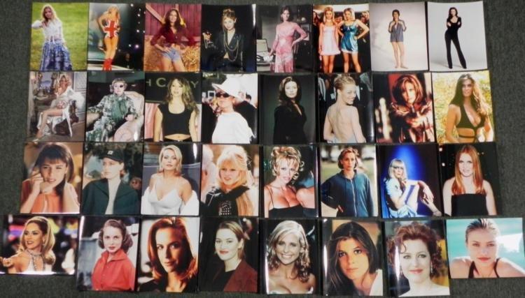 32 Hollywood Women 8x10 Photos Gellar, Diaz, Stone
