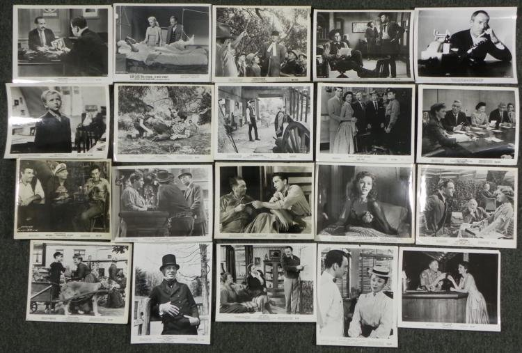 "20 Lobby Photo Cards 8"" x 10"" Classic Movie 1950s-"