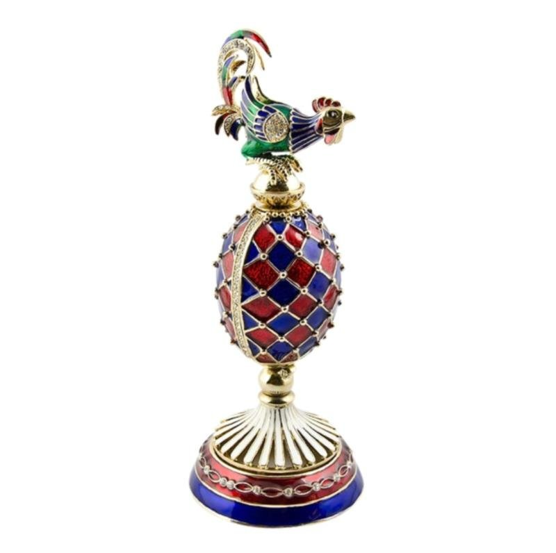 Faberge Inspired Rooster Egg