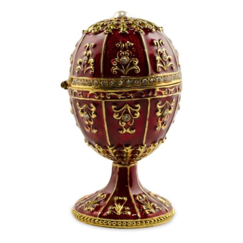 Ch?teau Oeuf Faberge Inspired Egg