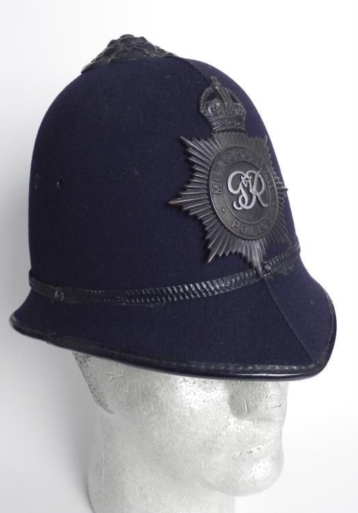 Authentic British Bobbys Helmet Metropolitan Police