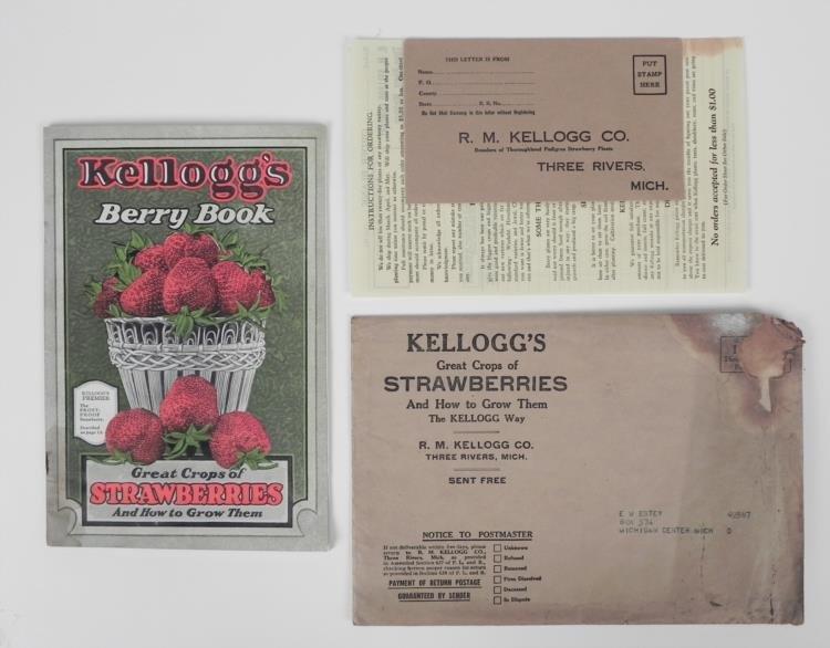 1927 R.M. Kellogg Strawberry Growers Booklet Vintage