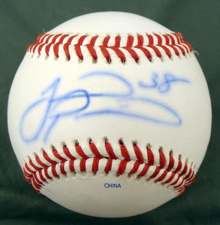 Joel Pineiro St. Los Angeles Angels Signed Basebal
