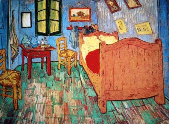 Vincent Van Gogh Bedroom Limited Edition Giclee