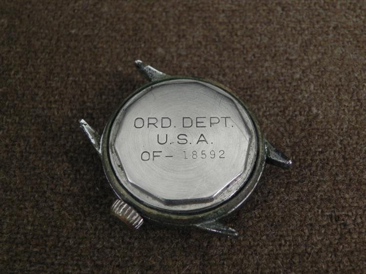 "WWII HAMILTON MILITARY WATCH-MARKED ""ORD DEPT-USA"" - 3"