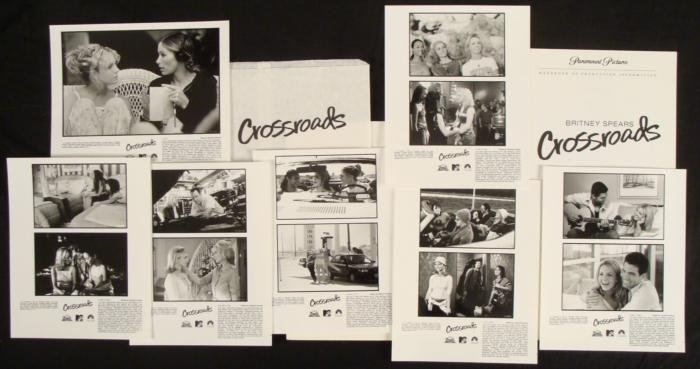 Britney Spears Crossroads Movie Press Kit w/ Photos