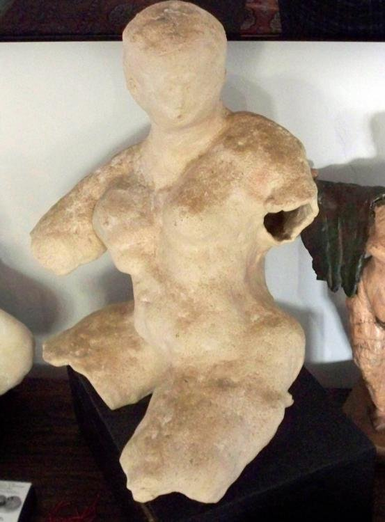 Betty Snyder Rees Original Clay Sculpture Female Nude