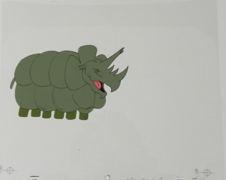 Cel Animation Catching Breath Original Herucloids