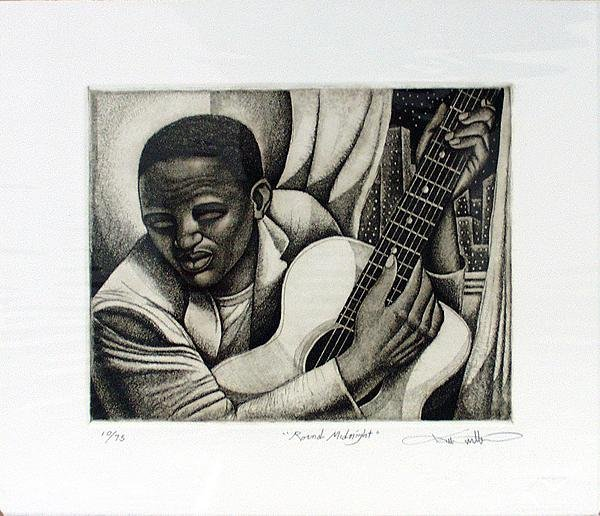 Keith Mallett: Round Midnight Signed and Numbered