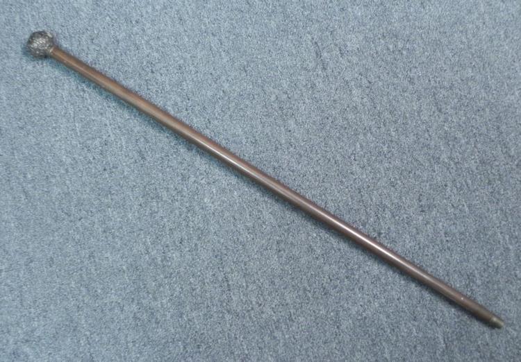SCOTTISH CANE/-DEWAR HIGHLANDER-WOOD & METAL