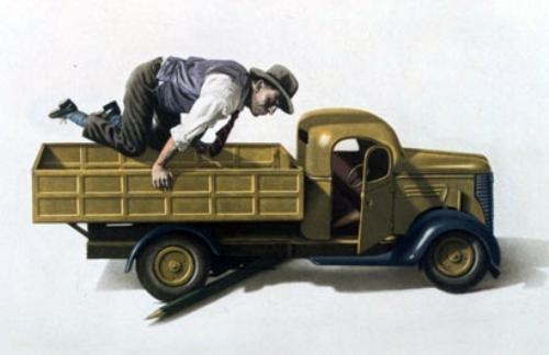 Photo Realist Jan Peter Tripp AMERICAN DREAM Art Print