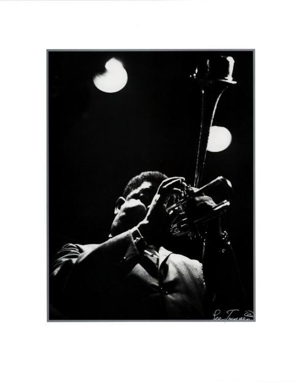 Lee Tanner Dizzy Gillespie Signed Art Print