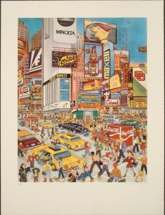 Susannah MacDonald : Times Square New York Art Print