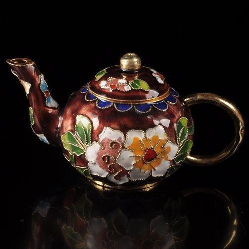 Lovely Asian cloisonne teapot