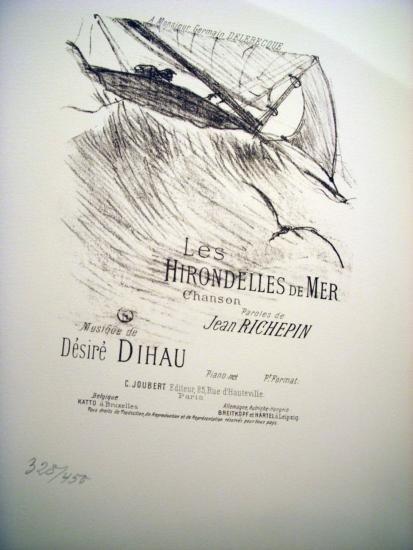 Le Hirondelles de Mer by Lautrec