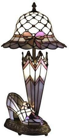Victorian Tiffany Style Lamp