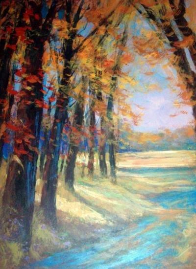 Woodland by Schofield Oil 24x18