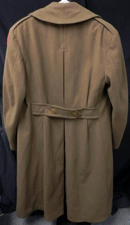 WWII US Army Greatcoat European Theater - 2