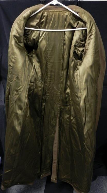 WWII US Army Greatcoat European Theater - 3