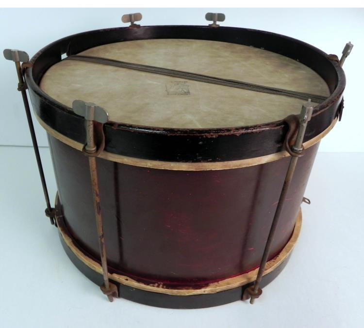 """Nice Early Antique 9"""" Drum"""