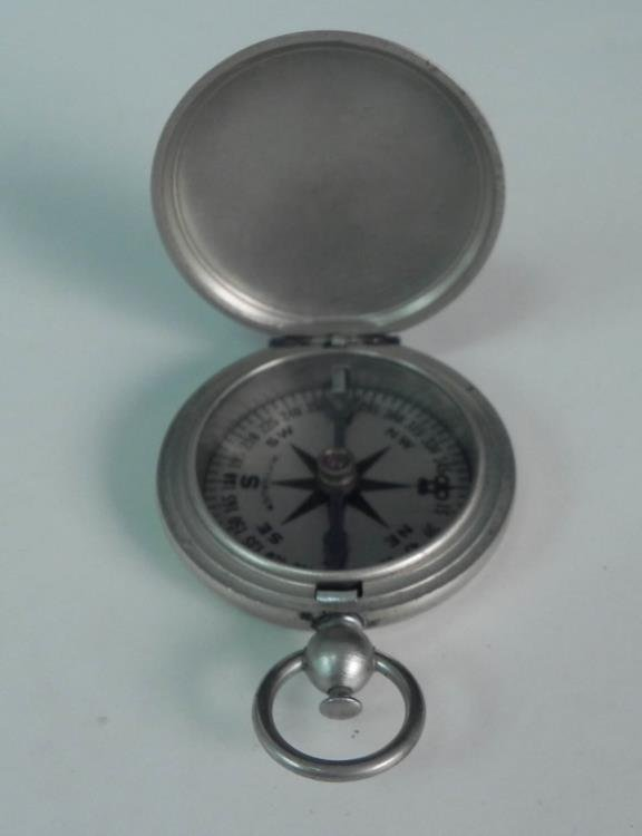WWII U.S. Naval Wittnauer Working Compass