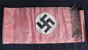 RARE NAZI KNIGHT'S CROSS WINNERS FUNERAL COFFIN SASH