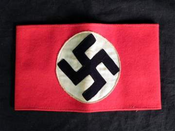 WWII German Nazi Armband - Multi-Piece Construction