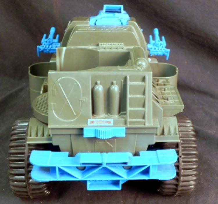 LARGE VINTAGE GI JOE BATTLE WAGON & M-LAUNCHER WORKS - 3