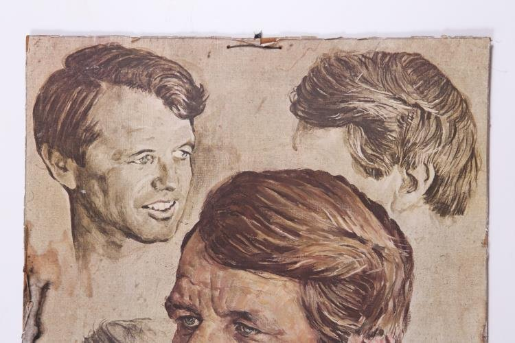 Portrait of Robert F. Kennedy by Norman Rockwell Poster - 2