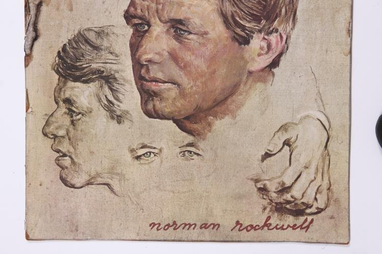 Portrait of Robert F. Kennedy by Norman Rockwell Poster - 3