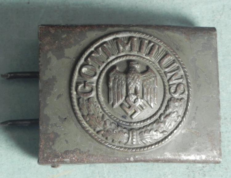 EARLY WAR NAZI WEHRMACHT ORIGINAL BELT BUCKLE