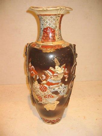 62D: Vase en faïence japonaise