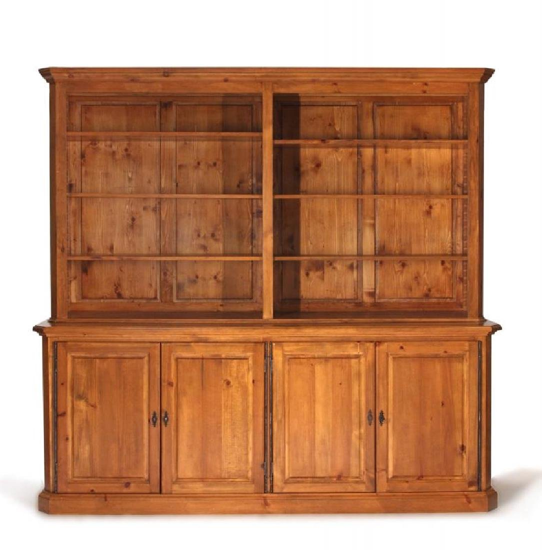 MEAT LOAF PINE BOOKCASE CABINET