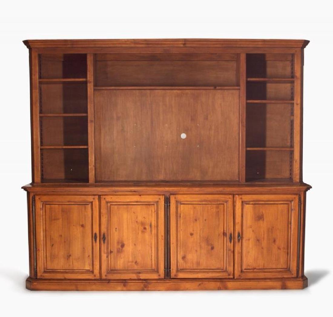 MEAT LOAF PINE ENTERTAINMENT CABINET