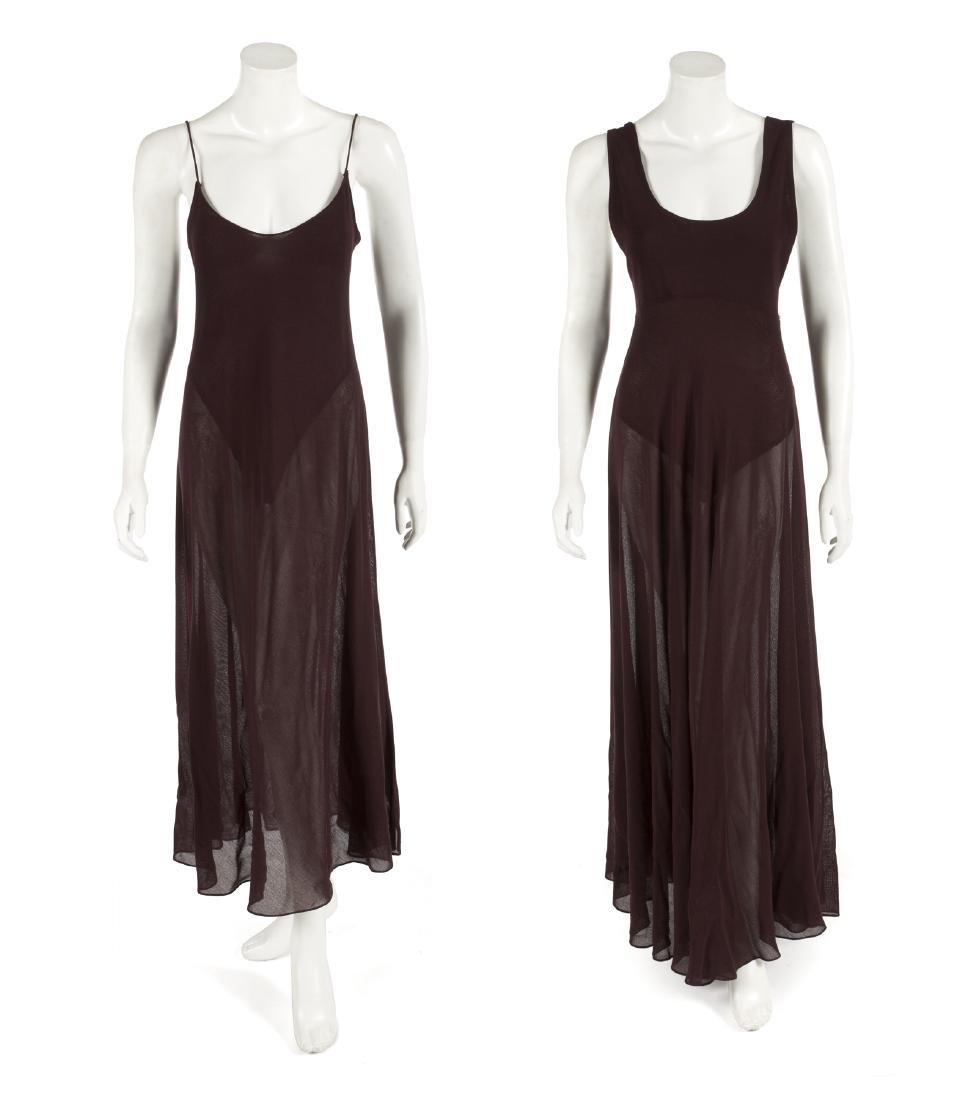 BARBRA STREISAND DONNA KARAN DRESSES