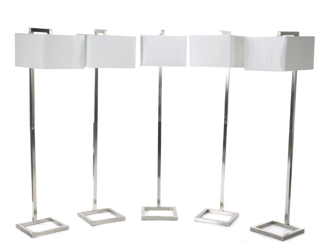 GROUP OF EIGHT LAMPS