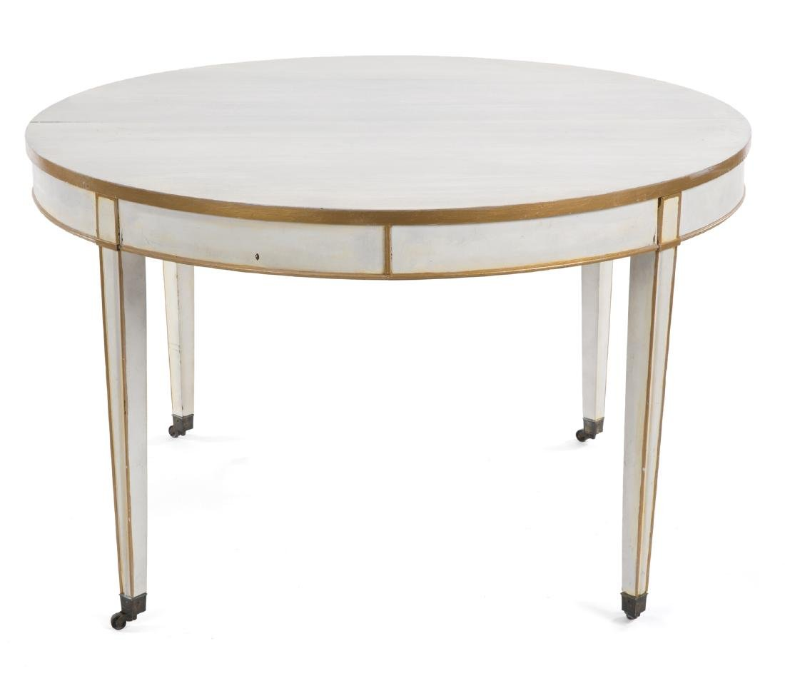TWO MODERN TABLES - 2
