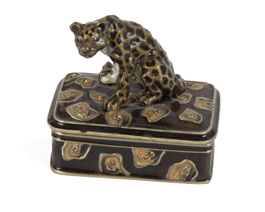 LEOPARD LAMP AND FIGURINE - 2