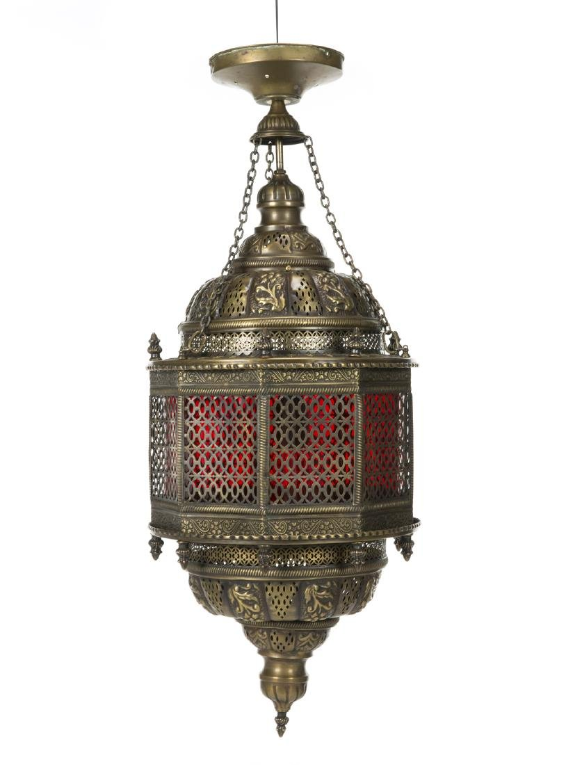 MORROCAN STYLE LIGHT FIXTURE