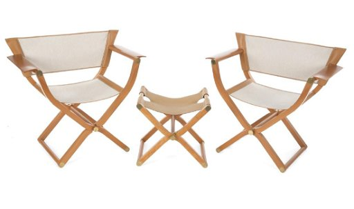 Fine Pair Of Hermes Pippa Folding Chairs And Stool Gmtry Best Dining Table And Chair Ideas Images Gmtryco