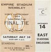 1966 WORLD CUP ENGLAND JULY 30, 1966, FINAL MATCH